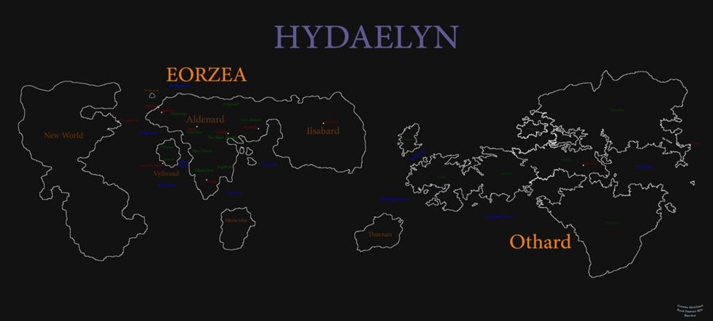 Goewyn Silverhand Blog Entry Hydaelyn Concept Map Final Fantasy