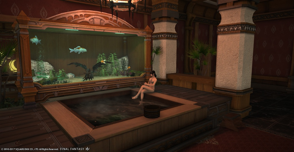 I Couldnt NOT Put In One Of My Favorite Hot Tubsthis Time With TWO Decks And Nidhogg A T4 Tank This Is The Room Large Window To