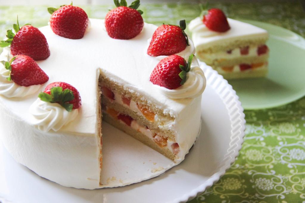 strawberry birthday cake recipe - HD3456×2304