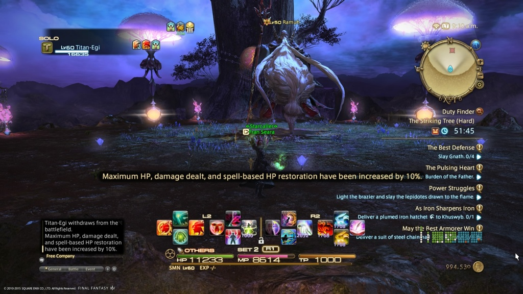 Fran Seara Blog Entry `Ramuh Defeated Solo` | FINAL FANTASY XIV, The