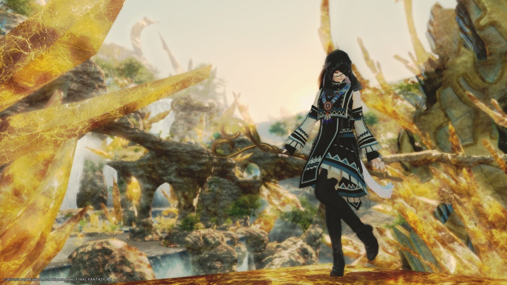 Anne Holms Blog Entry `My Blackmage glamour` | FINAL FANTASY XIV