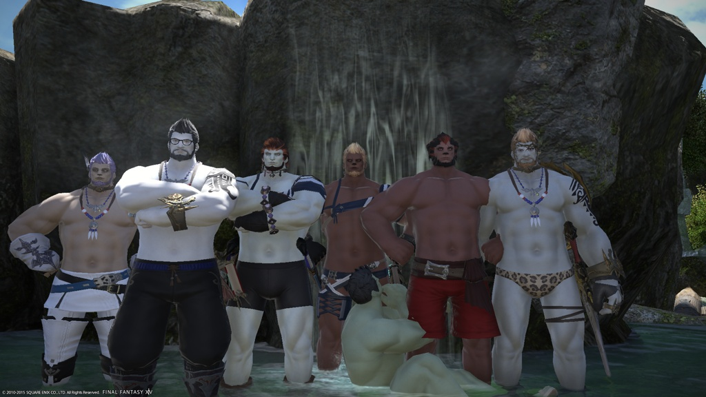 Agunimon Kenbara Blog Entry `Roegadyn Party` | FINAL FANTASY XIV