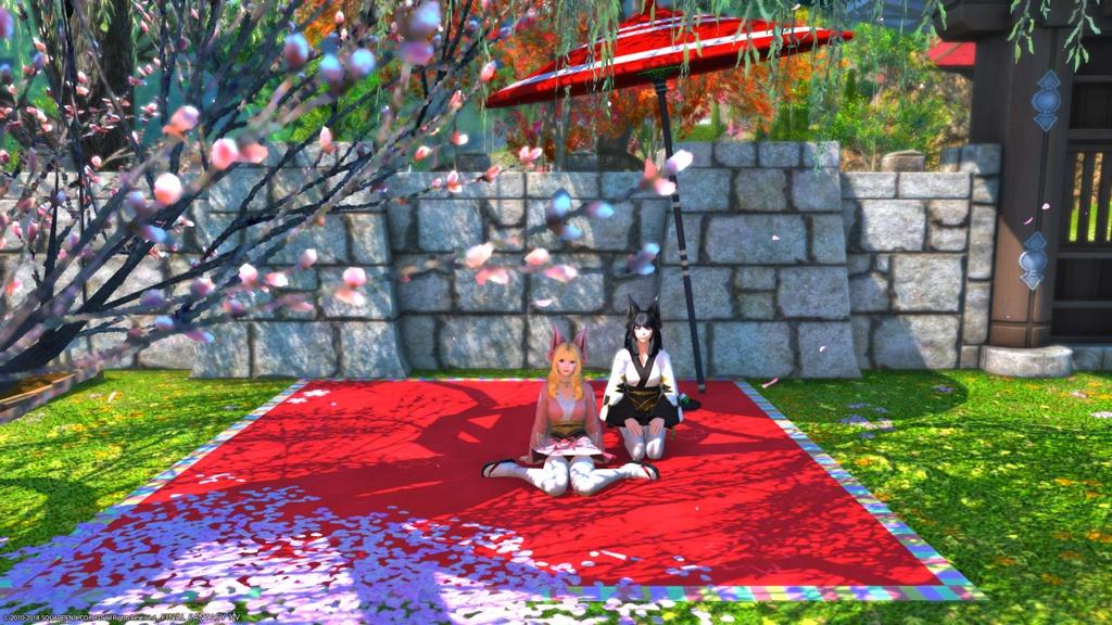 Flan Flan Blog Entry Housing Ideas Japanese Inn By Flan Mao Final Fantasy Xiv The Lodestone