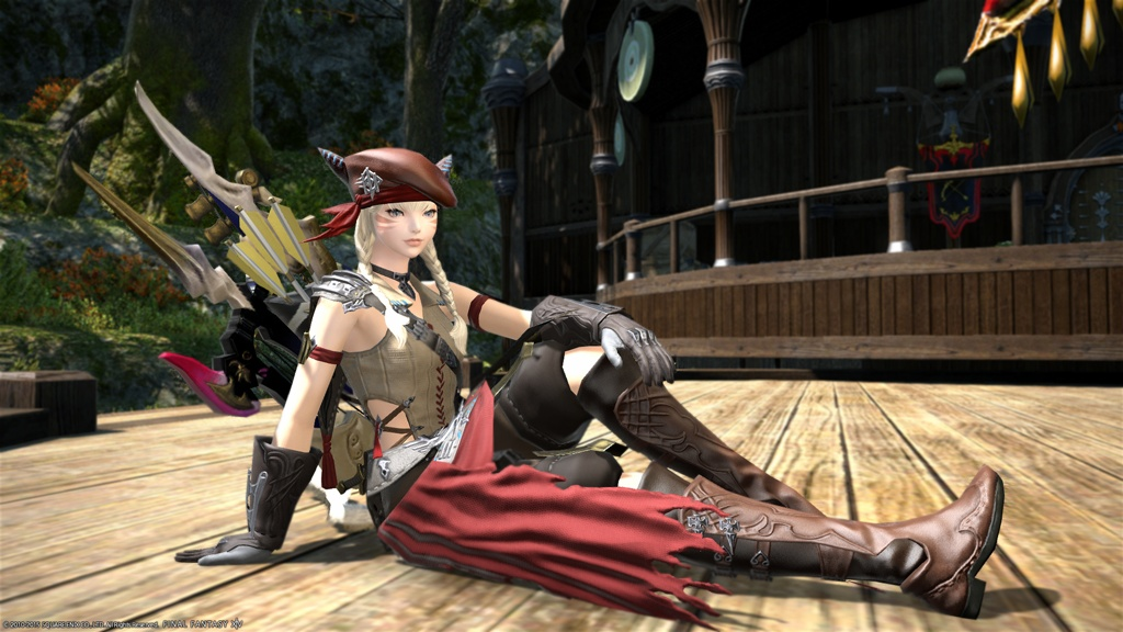 Eorzea Database Sky Pirate S Vest Of Aiming Final