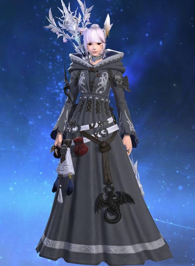エオルゼアデータベース「オーソドックス・ヒーラーローブ」 Final Fantasy Xiv The