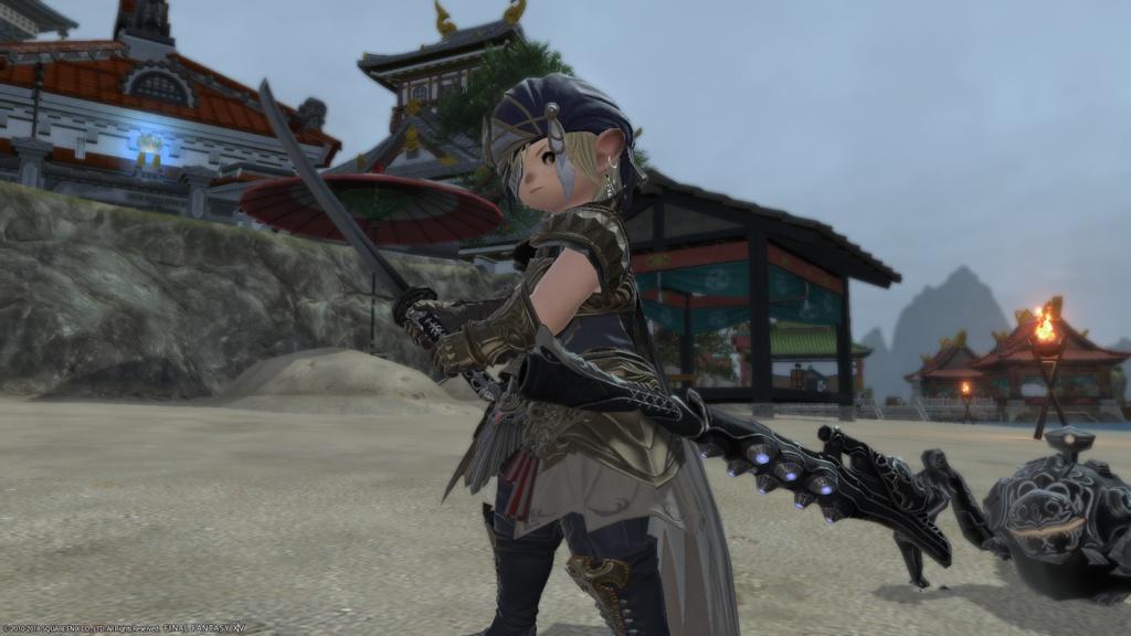 Eorzea Database: Omega Samurai Blade | FINAL FANTASY XIV, The Lodestone