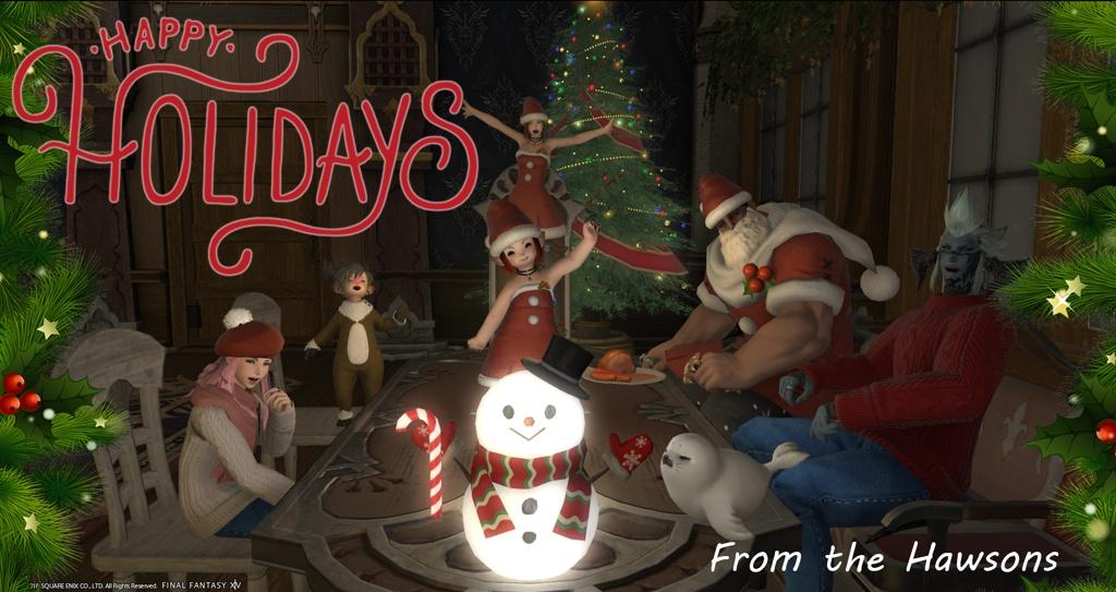 Final Fantasy Christmas.Iria Hawson Blog Entry Merry Christmas Final Fantasy