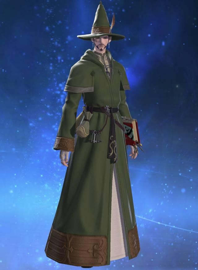 eorzea database valerian wizard s robe final fantasy xiv the