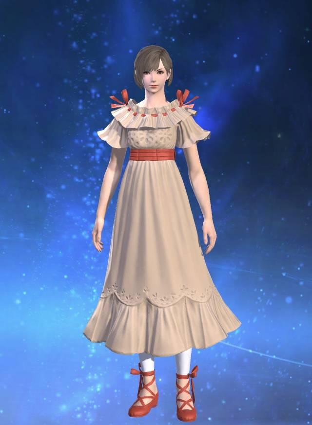 エオルゼアデータベース「ブライズメイドドレス」