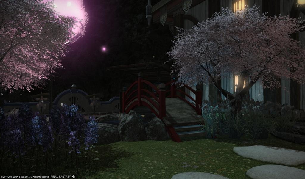 Eorzea Database Oriental Wood Bridge Final Fantasy Xiv