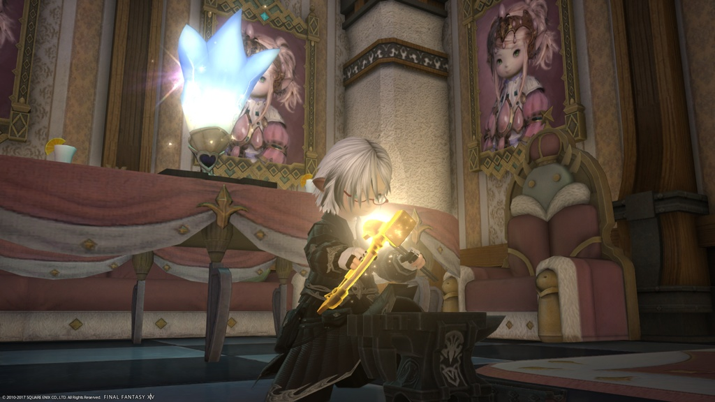 Eorzea Database: Blessed Forgekeep's Hammer | FINAL FANTASY XIV, The