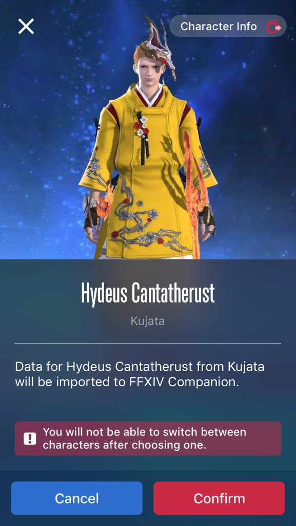 hydeus cantatherust blog entry ffxiv companion app is released