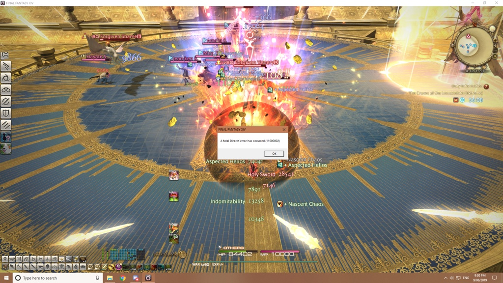 Banjo Optimo Blog Entry `DirectX 11 fatal error 11000002 Fix