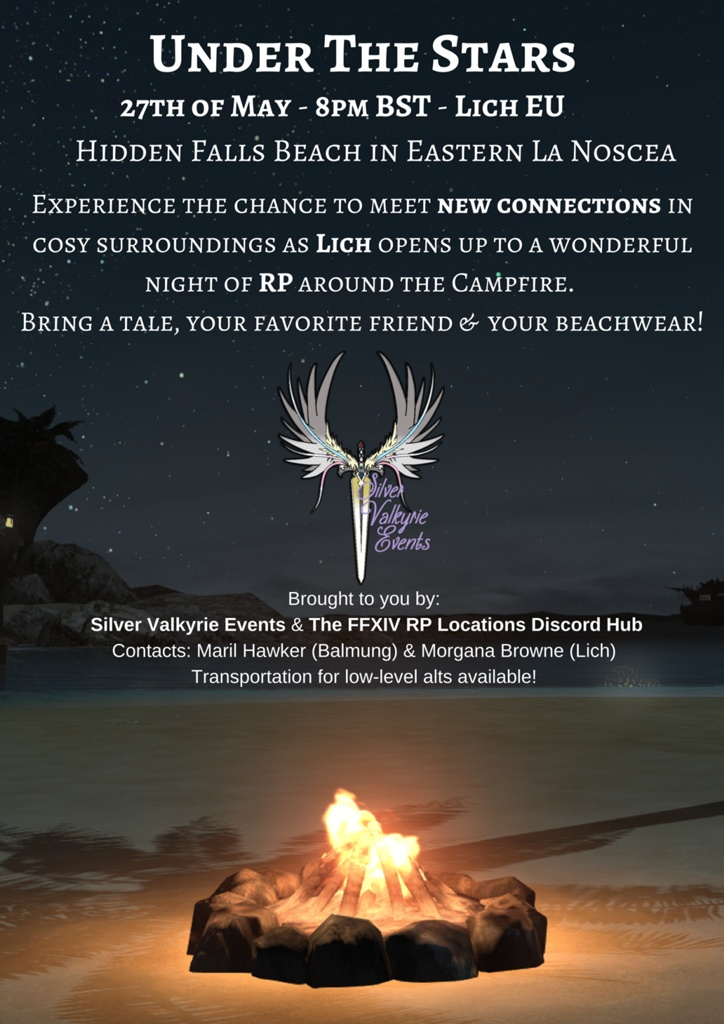 Valya Guiran Blog Entry `Lich RP Event (By Silver Valkyrie Events