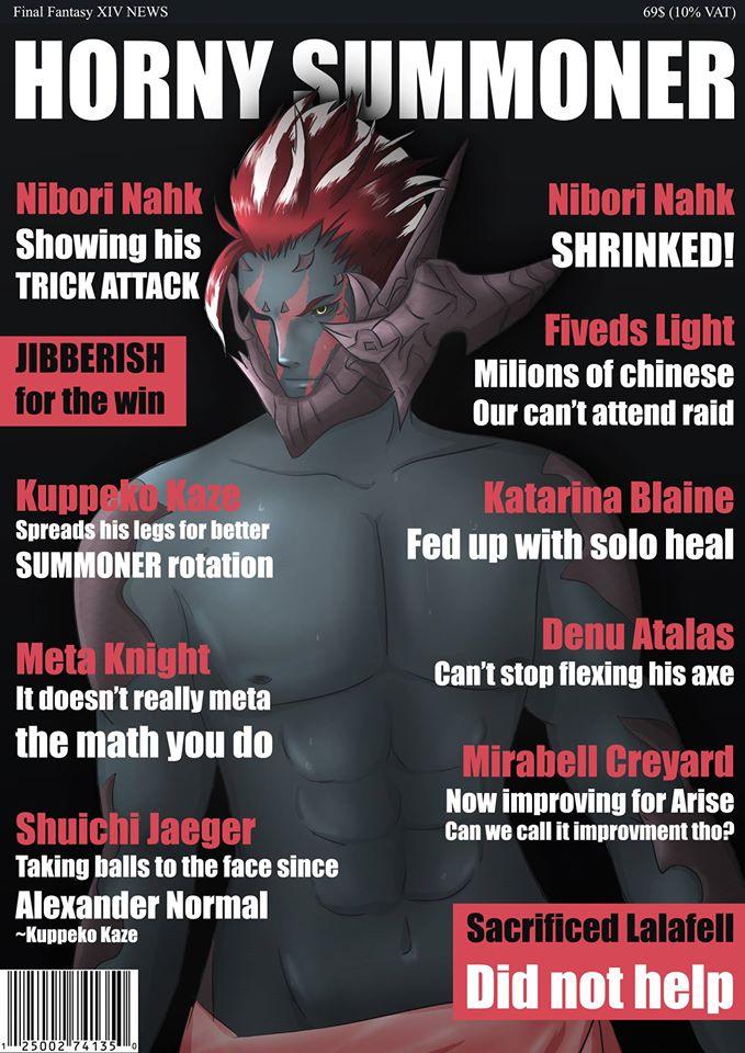 Shuichi Jaeger Blog Entry `Horny summoner` | FINAL FANTASY