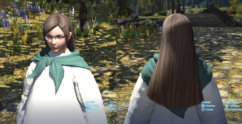 New long-hair at the Gold Saucer, 30kMGP : ffxiv