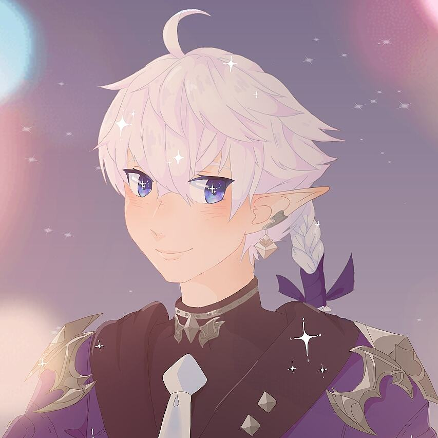 Turnip Shou Blog Entry Alphinaud Fanart Final Fantasy