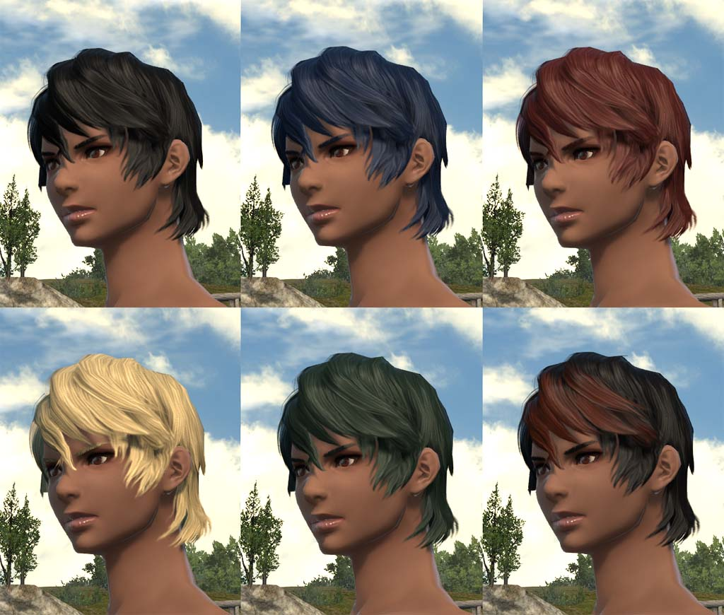 About The Hairstyles Ffxiv